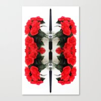 Summer Red Skulls 2012 Canvas Print