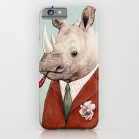 iPhone & iPod Case featuring Rhino by Animal Crew
