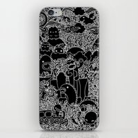 Oodles Of Doodles Of Sin… iPhone & iPod Skin