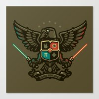 Geek For Life Canvas Print