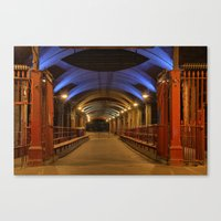 Granary Wharf Canvas Print
