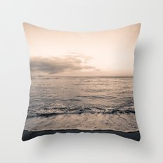 calm day 04 ver.warmblack Throw Pillow