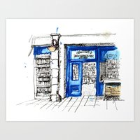 Galway girl Art Print