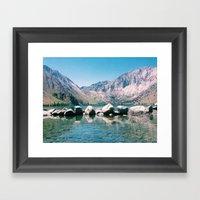 Convict Lake Circa 2013 Framed Art Print