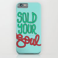 iPhone & iPod Case featuring Sold Your Soul by eugeniaclara