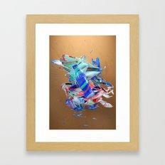 Colour Form & Expression #3 Framed Art Print