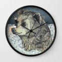 Bear Rock Wall Clock