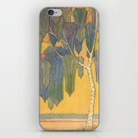 Birch 3 iPhone & iPod Skin
