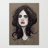 Mess. Canvas Print