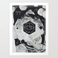 Moon Eye Art Print