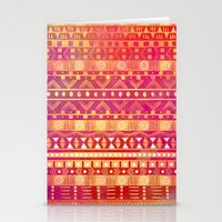Inspired Aztec Pattern Stationery Cards
