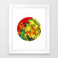 Ambelix Framed Art Print
