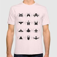 Naves Mens Fitted Tee Light Pink SMALL