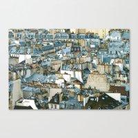 Toits De Paris Canvas Print