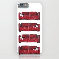 Cat In A Red Sofa  iPhone 6 Slim Case