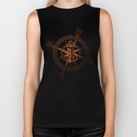 Wooden Anchor Biker Tank
