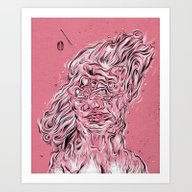 Vessel Of Woman Art Print