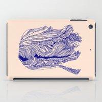 Dark tulip iPad Case