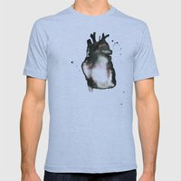 On Love, Mens Fitted Tee Athletic Blue SMALL