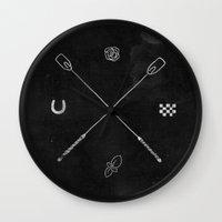 Derby X Wall Clock