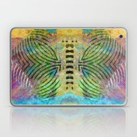 Abstract On Brown Laptop & iPad Skin