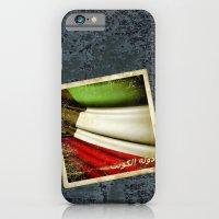 iPhone & iPod Case featuring Grunge sticker of Kuwait flag by Lulla