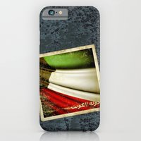 Grunge Sticker Of Kuwait… iPhone 6 Slim Case