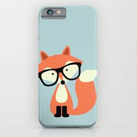Hipster Red Fox iPhone 6 Slim Case