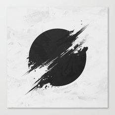 The Sun Is Black Canvas Print