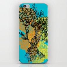 peacock tree iPhone & iPod Skin