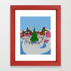 maybe Christmas doesn't come from a store, maybe, perhaps it's a little bit more Framed Art Print