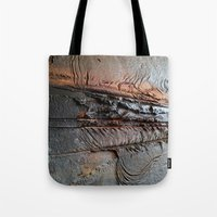 Abstract Structure Tote Bag