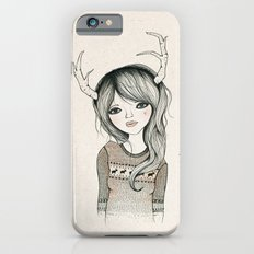 Antler Girl iPhone 6s Slim Case