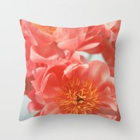 Paeonia #6 Throw Pillow