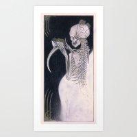Black Death Art Print