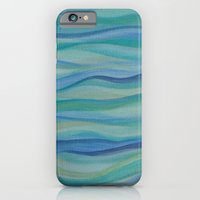 Surf Abstract Waves iPhone 6 Slim Case