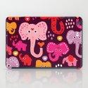 Elephant india parade iPad Case