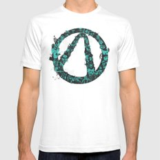 Borderlands 2 Mens Fitted Tee White SMALL