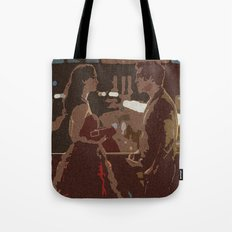 Three Words, Eight Letters Tote Bag