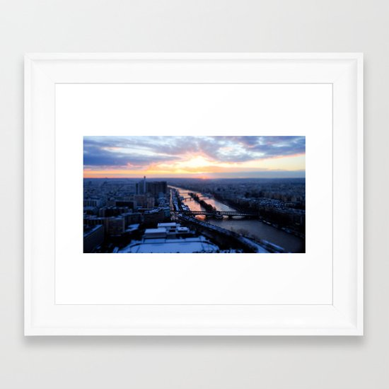 Pick a bridge Framed Art Print