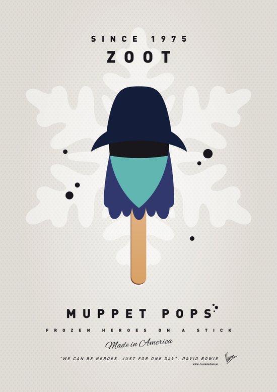 My MUPPET ICE POP - Zoot Art Print