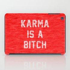 Karma is a Bitch iPad Case