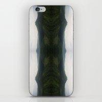mountain flip iPhone & iPod Skin