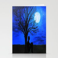 Peaceful Night Stationery Cards