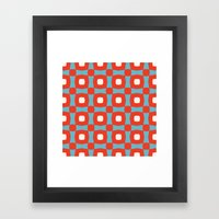 Rosinga Pattern Framed Art Print