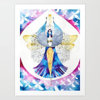 Bee Fairy Art Print