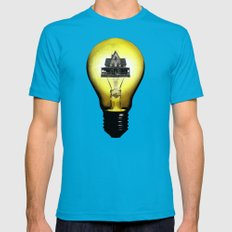 LightHouse Mens Fitted Tee Teal SMALL