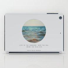 Swim The Sea iPad Case