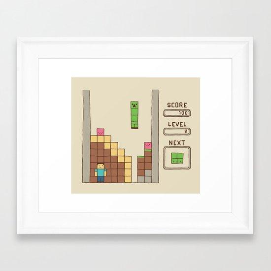 Unfortunate Framed Art Print