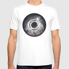 eye SMALL Mens Fitted Tee White